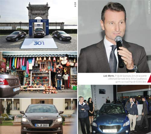 Peugeot 301 : Arrivée à bon port