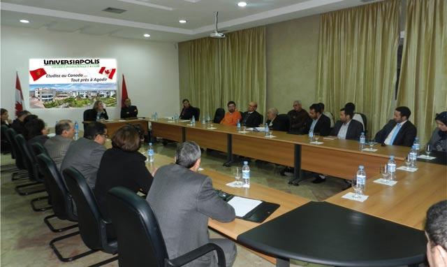 Agadir : L  ambassadrice du Canada et les opérateurs économiques veulent booster leur coopération