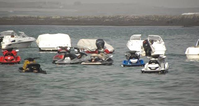 Plage de Bouznika :  Les jet-ski sous haute surveillance !