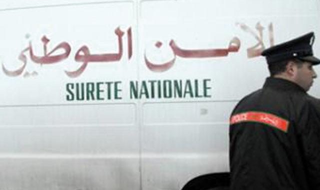El Jadida : Un policier gravement blessé par un repris de justice