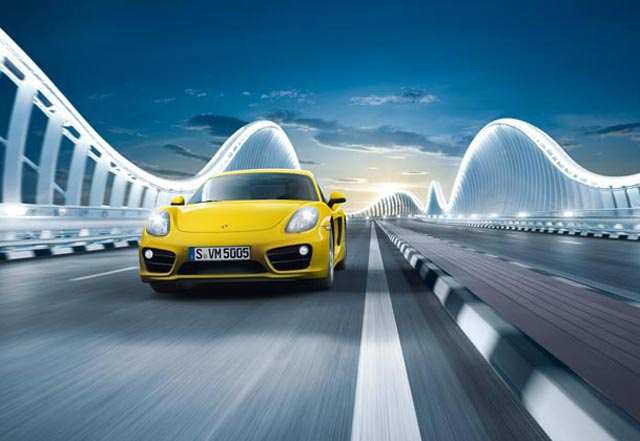Porsche Cayman : L étincelle au rendez-vous
