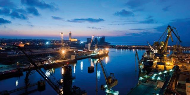 Le port de Casablanca relie le passé à l avenir