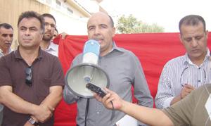 Oujda : Sit-in de protestation devant le consulat d'Algérie
