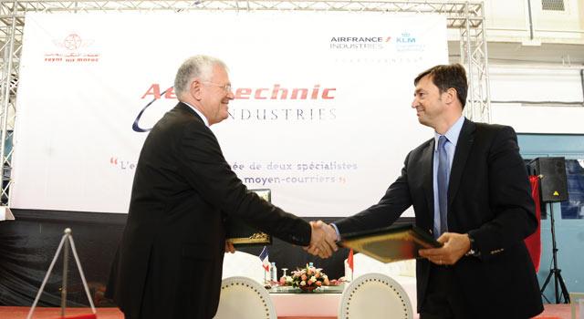 Maintenance aéronautique : Convention entre la RAM et Air France