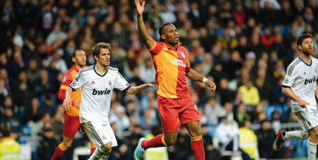 C1- 1/4 de finale :  Le Real Madrid dompte Galatasaray