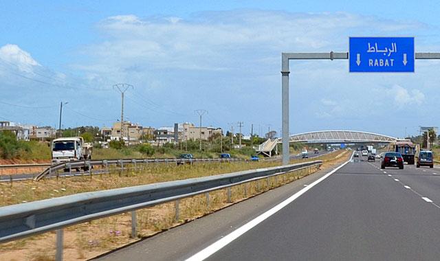 Autoroute Rabat-Casablanca: Arrêt de la circulation sur la bretelle de sortie vers Ain Harrouda