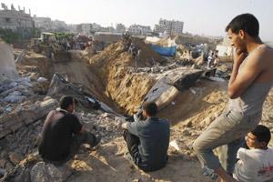 Trois Palestiniens tués et un disparu dans un raid israélien sur Gaza