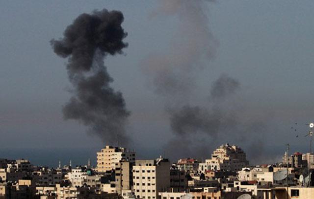 Raids israélien sur Gaza: Onze palestiniens tués et une centaine blessés
