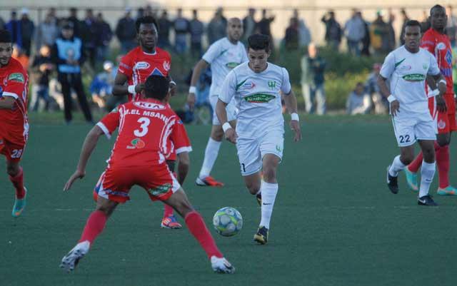 Championnat  national Pro Élite-1 La toute première du Raja de Beni Mellal
