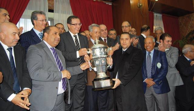 Vainqueurs de la Coupe du Trône : La Wilaya fête les Verts