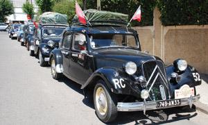 Citroën Maroc reçoit le Rallye des Casbahs