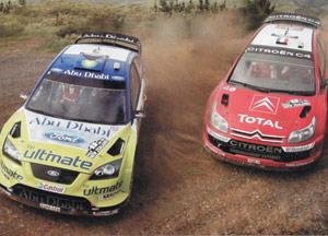 WRC : Duel jusqu'auboutiste entre Citroën et Ford