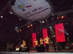 Le Festival Rawafid Azawane illumine la ville de Laâyoune