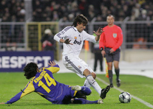 Le Real Madrid bat Bate Borisov et se qualifie
