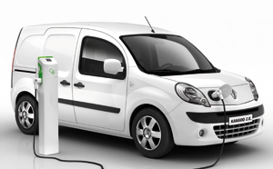 Renault Kangoo Z.E. élu «International Van of the year 2012»