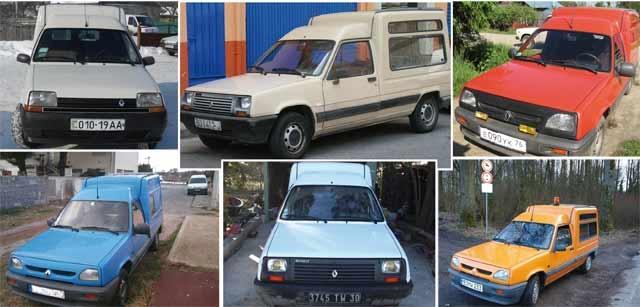 Il était une fois…, Renault Express : L'Express(ion) distinguée