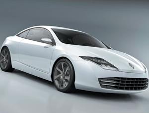 Avant première : Renault Laguna Concept Coupé : Le contraste du design