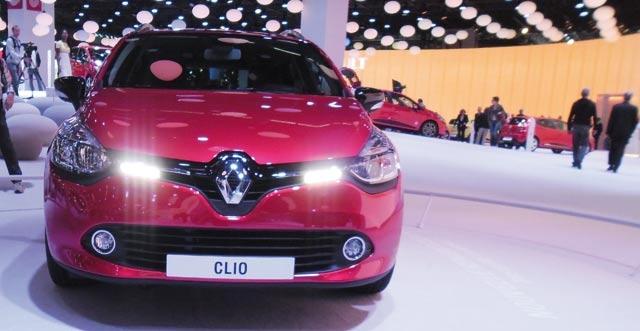 Groupe Renault : Une présentation haute en couleur