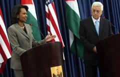 Proche-Orient : Rice promet un Etat palestinien à Annapolis
