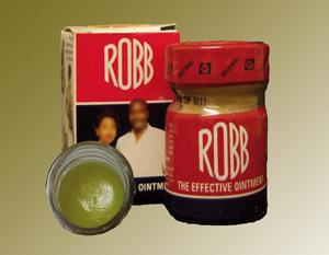 Pommade «Robb» : Un poison à portée de main