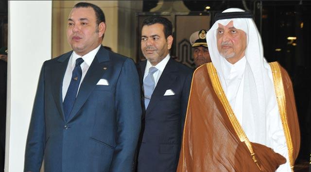 Arrivée de SM le Roi en Arabie Saoudite