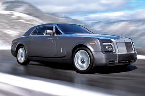 Le bolide : Rolls-Royce Phantom Coupé