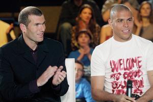 Zidane et Ronaldo jouent à Fès contre la pauvreté