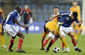 La France obtient le nul en Roumanie