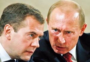 Incendies en Russie : Poutine et Medvedev à l'épreuve du feu