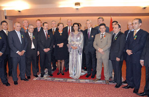 SAR Lalla Meryem à la rencontre des Marocains des Pays-Bas