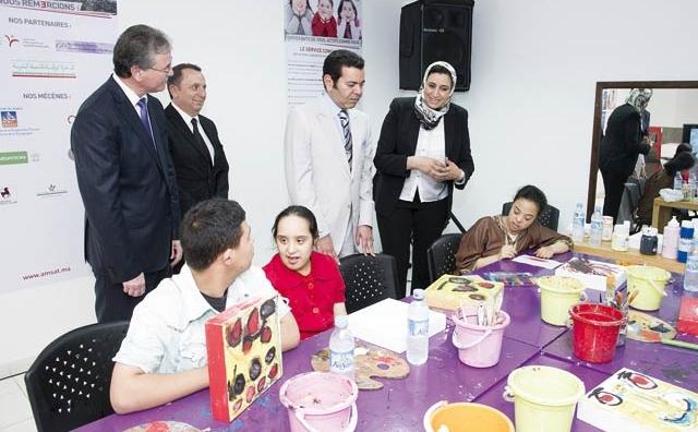 Trisomie 21 : SAR le Prince Moulay Rachid inaugure à Rabat  un nouveau centre d accompagnement