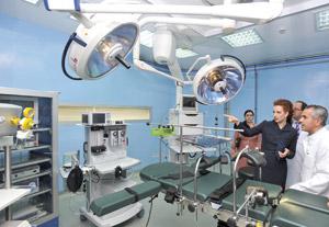 Lutte contre le cancer : SAR Lalla Salma inaugure le service de radiothérapie à l'INO de Rabat