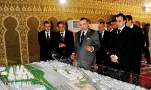 SM le Roi lance le projet Oujda Urba Pôle