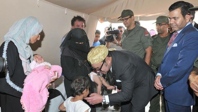 L'hôpital marocain de campagne : Au chevet des réfugiés syriens, SM le Roi montre la voie