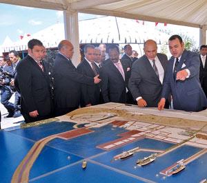 Lancement de trois unités de production à Jorf Lasfar