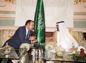 Maroc-Arabie Saoudite : Le Souverain rend visite au Roi Abdallah Ibn Abdelaziz