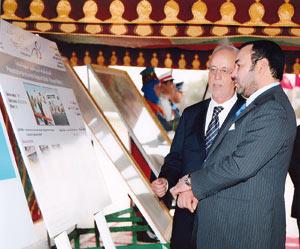 L'entrée en service du complexe est prévue fin 2009