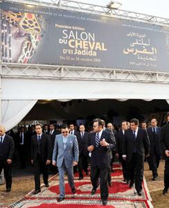 SM le Roi inaugure la première édition du Salon du cheval d'El Jadida