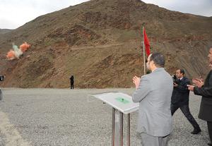 Lancement des travaux de construction du barrage Taskourt