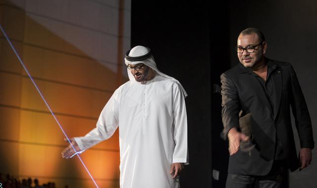 SM le Roi prend part à la cérémonie d'inauguration de l'un des plus grands centres d'affaires d'Abou Dhabi