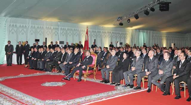 Lagune de Marchica : SM le Roi préside la cérémonie de présentation du plan d'aménagement spécial