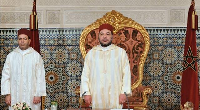 SM le Roi adresse un discours à la Nation à l'occasion du 59ème anniversaire de la Révolution du Roi et du peuple