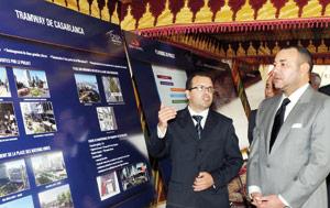 SM le Roi lance les travaux de réalisation de la plate-forme du tramway de Casablanca
