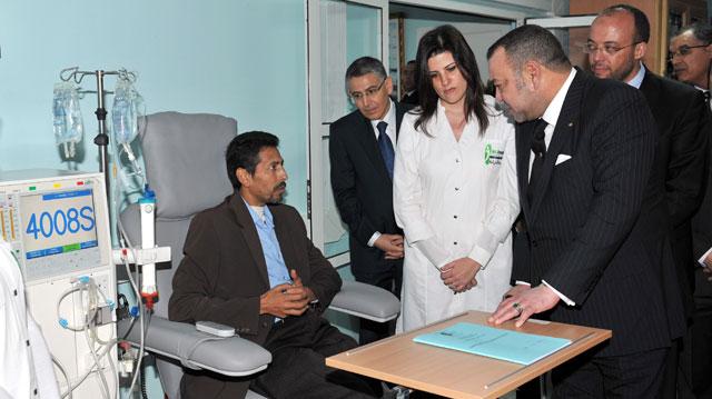 Inauguration d'un centre d'hémodialyse à Bouskoura : Ferme volonté Royale pour une égalité d'accès aux soins de santé
