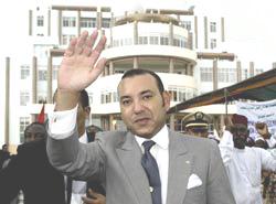Le souverain au chevet du Niger