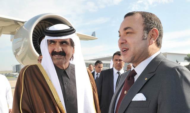 Arrivée de SM le Roi Mohammed VI à Doha