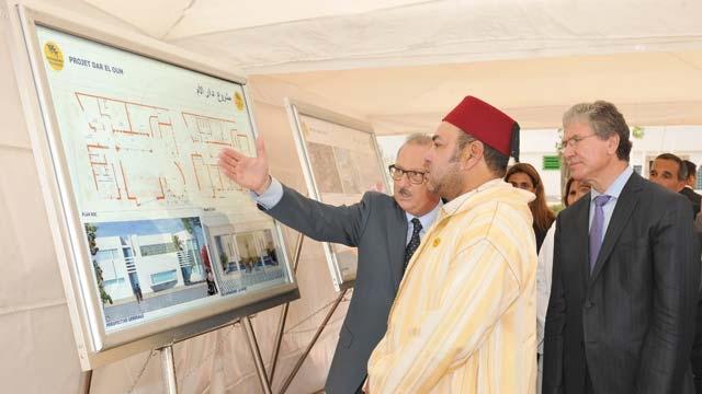 Activités royales : Sa Majesté le Roi Mohammed VI dote  Casablanca de nouveaux projets