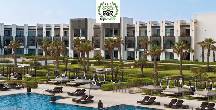 Prix Travellers' ChoiceTM TripAdvisor 2016: Le Sofitel Agadir primé