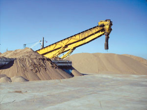 Le sable marocain s'exporte bien à Las Palmas