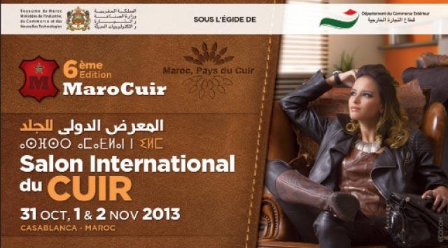 Ouverture à Casablanca du salon international «Marocuir»